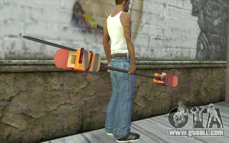 Paddlesaw for GTA San Andreas third screenshot