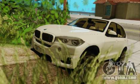 BMW X5 (F15) 2014 for GTA San Andreas side view