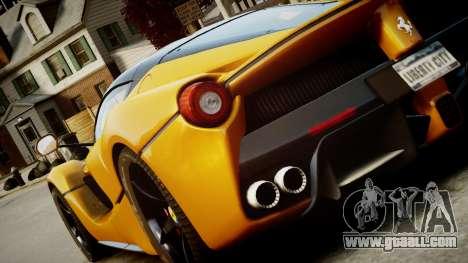 Ferrari LaFerrari v1.2 for GTA 4 left view