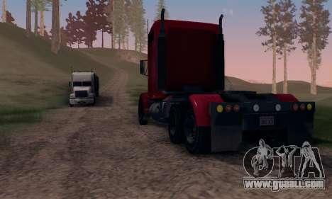 GTA V Packer for GTA San Andreas back view