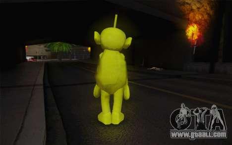 Despi of the Teletubbies for GTA San Andreas second screenshot