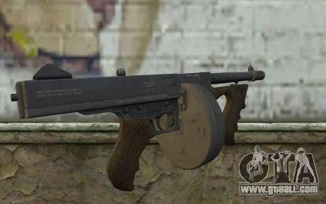 Machine Thompson (Deadfall Adventures) for GTA San Andreas second screenshot