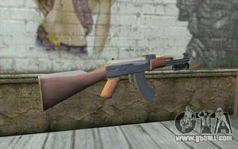 AK47 with a bayonet for GTA San Andreas second screenshot
