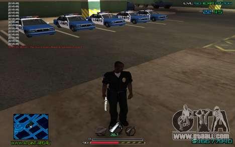 C-HUD by CONVERSION for GTA San Andreas