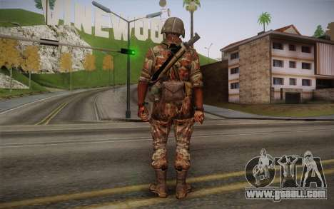 U.S. Soldier v3 for GTA San Andreas second screenshot