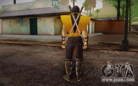 Classic Scorpion из MK9 DLC for GTA San Andreas second screenshot