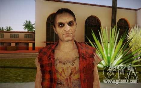 New homeless for GTA San Andreas third screenshot