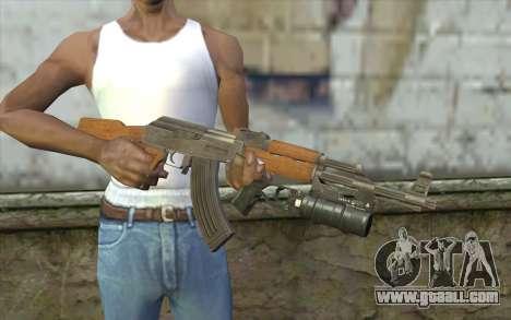 AK47 with GP-25 for GTA San Andreas third screenshot