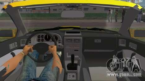 Mazda Savanna RX-7 III (FC3S) for GTA Vice City right view