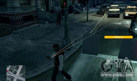 Watch Dogs Style MOD for GTA 4 third screenshot