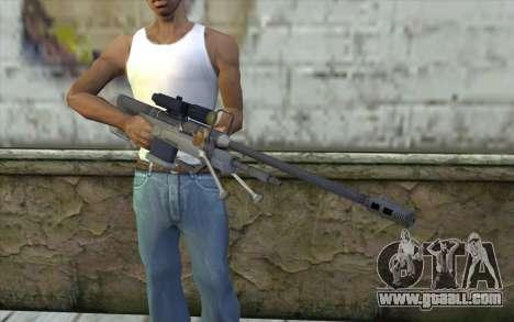 Sniper Rifle from Halo 3 for GTA San Andreas third screenshot
