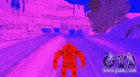 TitanFall Atlas for GTA San Andreas ninth screenshot