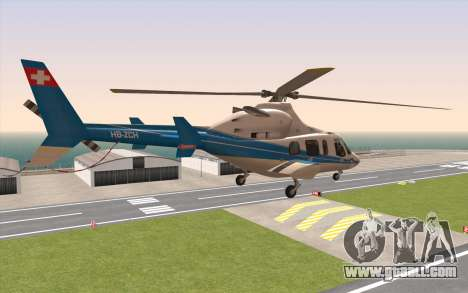 Bell 430 for GTA San Andreas left view