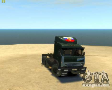 KamAZ Tractor 4410 for GTA 4