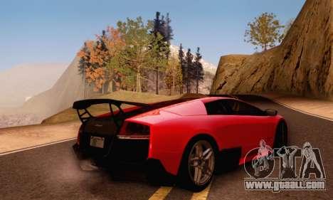 Lamborghini Murcielago LP670-4 SV for GTA San Andreas side view