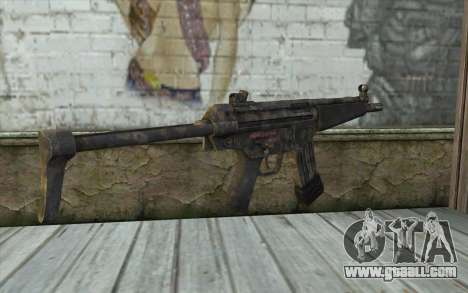 G53 with Woodland Camo BF3 for GTA San Andreas second screenshot