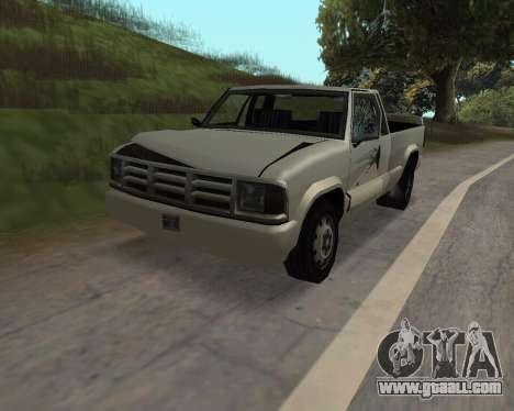 New Pickup for GTA San Andreas back view