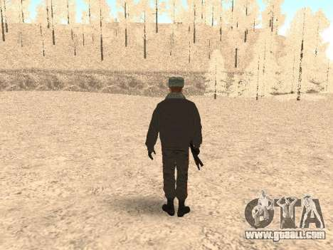 A police captain for GTA San Andreas third screenshot