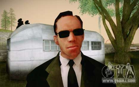 Agent Smith from Matrix for GTA San Andreas third screenshot