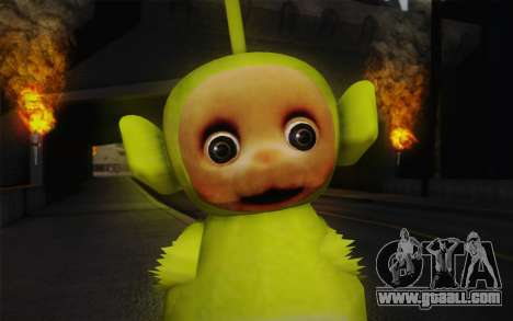 Despi of the Teletubbies for GTA San Andreas third screenshot
