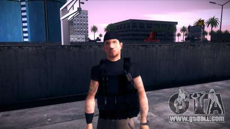 Special Weapons and Tactics Officer Version 4.0 for GTA San Andreas ninth screenshot