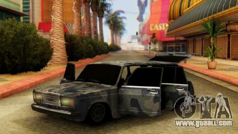 VAZ 2104 In camouflage for GTA San Andreas