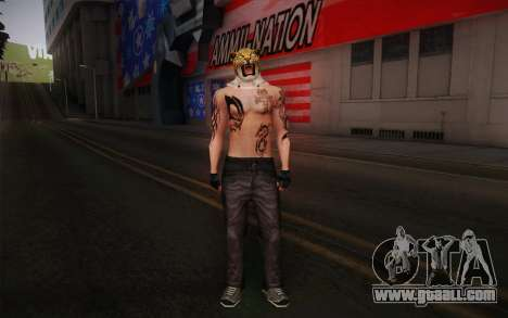 King from Tekken for GTA San Andreas