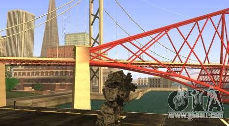 TitanFall Atlas for GTA San Andreas third screenshot