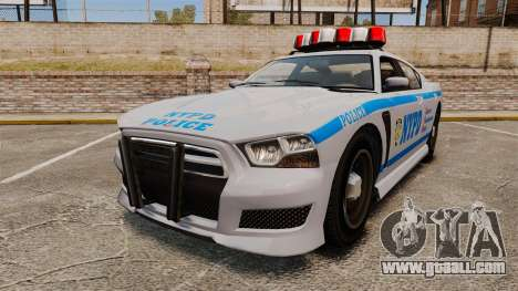 GTA V Bravado Buffalo NYPD for GTA 4