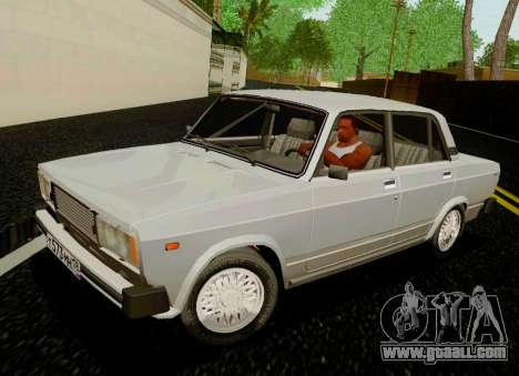 VAZ-2105 for GTA San Andreas back left view