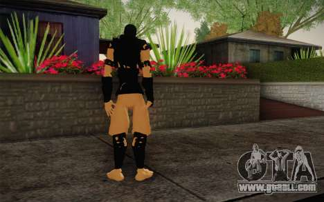 Ninja for GTA San Andreas second screenshot