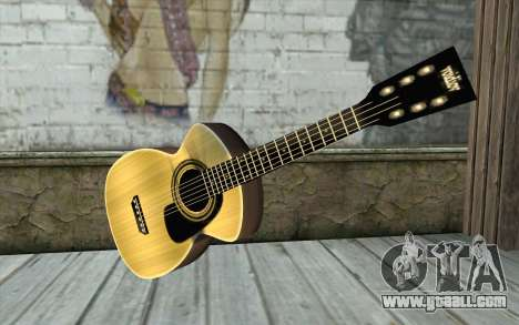 Acoustic Guitar for GTA San Andreas