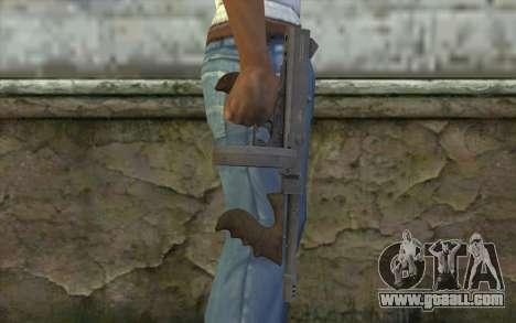 Machine Thompson (Deadfall Adventures) for GTA San Andreas third screenshot