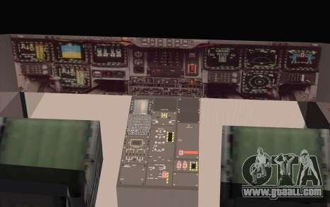 B-2 Spirit for GTA San Andreas back left view
