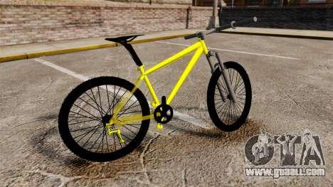 GTA V Mountain Bike for GTA 4 left view