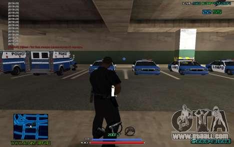 C-HUD by CONVERSION for GTA San Andreas third screenshot