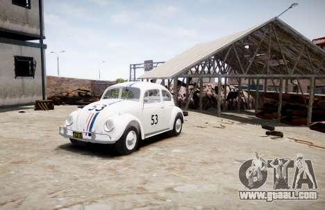 Volkswagen Beetle 1962 for GTA 4