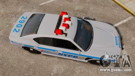 GTA V Bravado Buffalo NYPD for GTA 4 right view