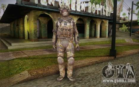 Crosby from Call of Duty: Black Ops II for GTA San Andreas