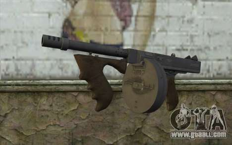 Machine Thompson (Deadfall Adventures) for GTA San Andreas