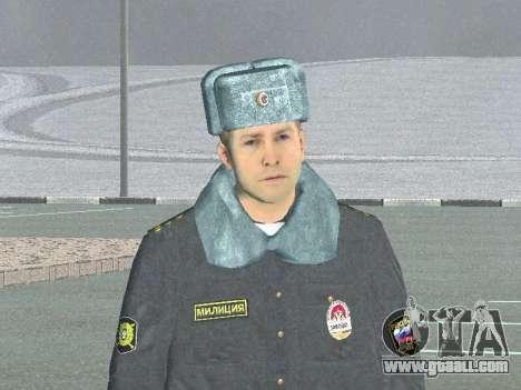 A police captain for GTA San Andreas