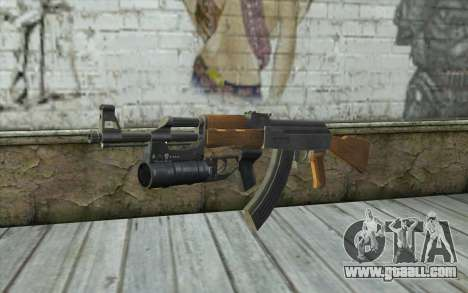 AK47 with GP-25 for GTA San Andreas