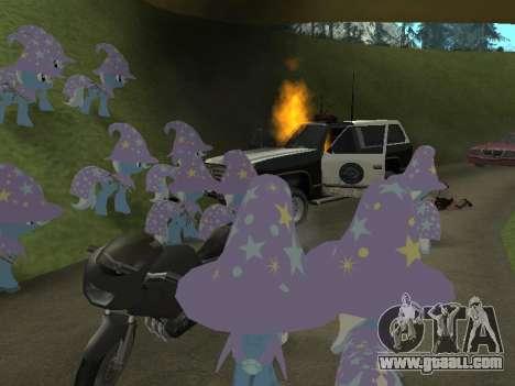 Trixie for GTA San Andreas sixth screenshot