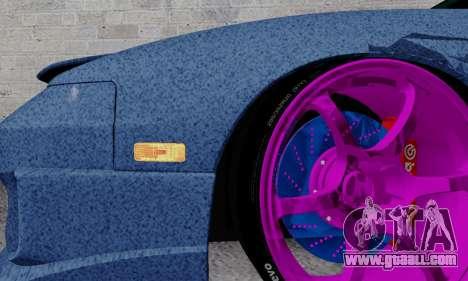 Nissan 240SX for GTA San Andreas interior