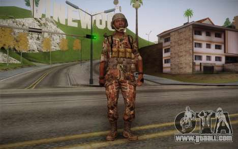U.S. Soldier v3 for GTA San Andreas