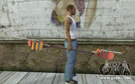 Paddlesaw for GTA San Andreas