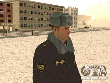A police captain for GTA San Andreas forth screenshot