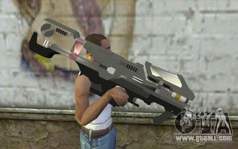 Halo Spartan Laser for GTA San Andreas third screenshot