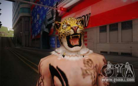 King from Tekken for GTA San Andreas third screenshot
