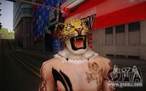 King from Tekken for GTA San Andreas third screenshot